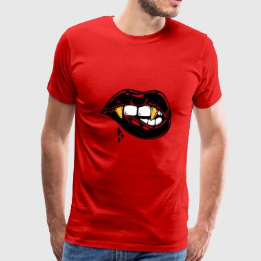 Vampire Kisses - Men's Premium T-Shirt
