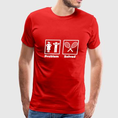 problem solved TENNIS 2 - Men's Premium T-Shirt