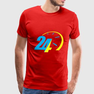 24 Hours - Men's Premium T-Shirt