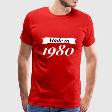 Made in 1980 - Men's Premium T-Shirt