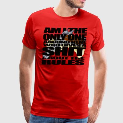 Am I The Only One Walter Line - Men's Premium T-Shirt