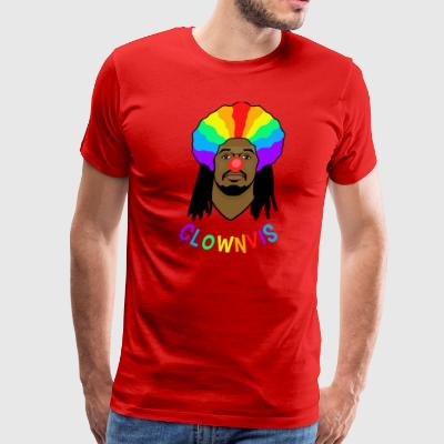 Clownvis Text - Men's Premium T-Shirt