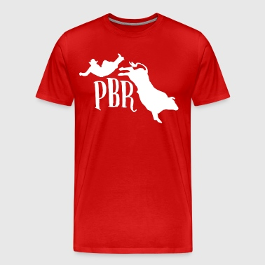 Professional Bull Riders - Men's Premium T-Shirt