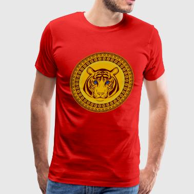 Golden Tiger - Men's Premium T-Shirt