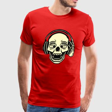 DJ Skull - Men's Premium T-Shirt