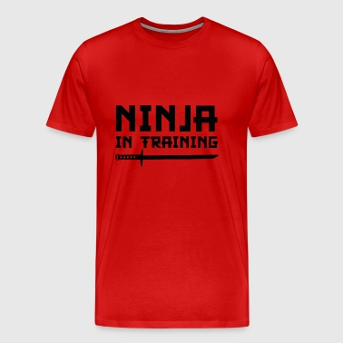 Ninja In Training - Men's Premium T-Shirt