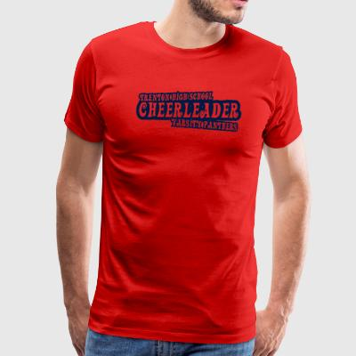 Trenton High School Cheerleader Varsity Panthers - Men's Premium T-Shirt