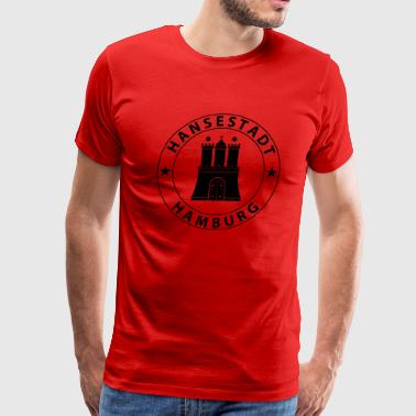 Hamburg Design - Men's Premium T-Shirt