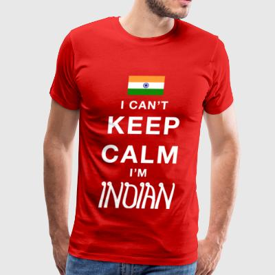 Keep calm Indian - Men's Premium T-Shirt