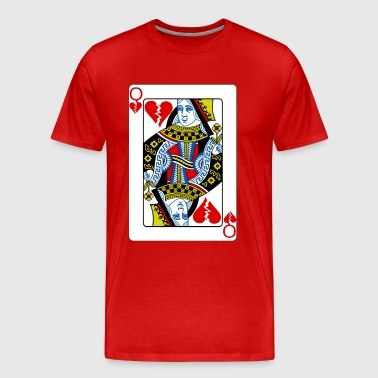 Queen of Broken Hearts - Men's Premium T-Shirt