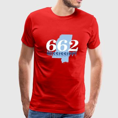 MISSISSIPPI662 - Men's Premium T-Shirt