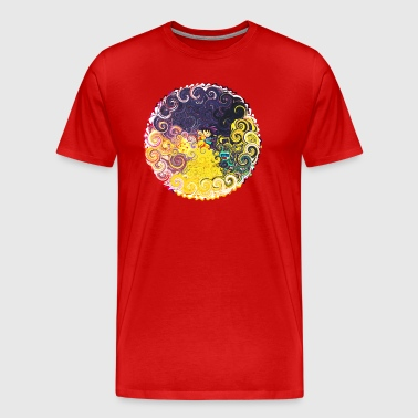 KID Goku custom artwork - Men's Premium T-Shirt