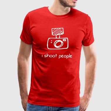I shoot people - Men's Premium T-Shirt