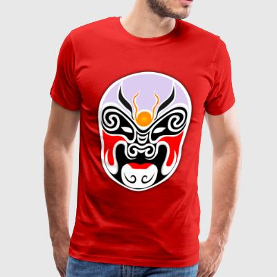 japanese mask - Men's Premium T-Shirt