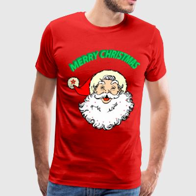 merry christmas santa claus - Men's Premium T-Shirt
