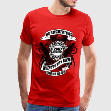 The 2nd Amendment - Men's Premium T-Shirt