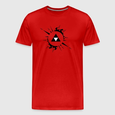 The legend of zelda Triforce vectorized - Men's Premium T-Shirt