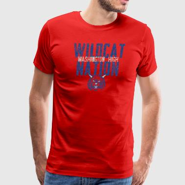 Wildcat Nation Washington High - Men's Premium T-Shirt