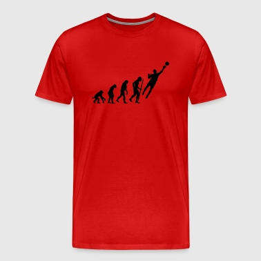 Evolution Goalkeeper Soccer - Men's Premium T-Shirt