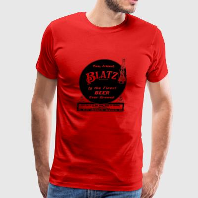 Vintage Blatz Beer Advertising 1911 - Men's Premium T-Shirt