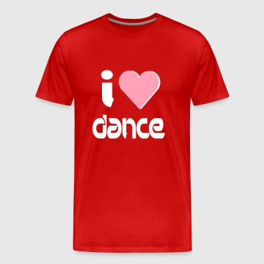 I Love Dance - Men's Premium T-Shirt