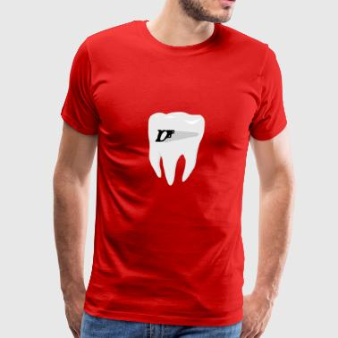 tooth saw - Men's Premium T-Shirt