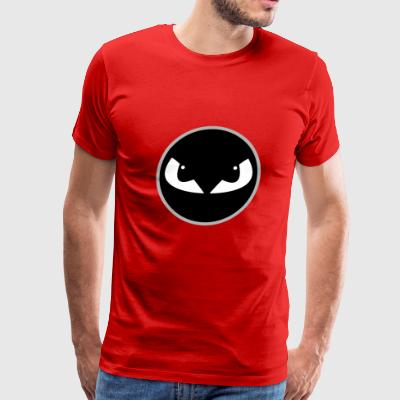 Angry Eyes Style Face - Men's Premium T-Shirt