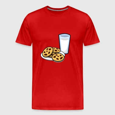 milk and cookies - Men's Premium T-Shirt