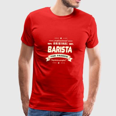 the Barista Original - Men's Premium T-Shirt