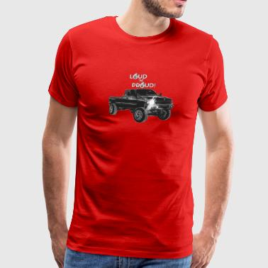 LOUD 'N' PROUD 2nd Gen Cummins Apparel! - Men's Premium T-Shirt