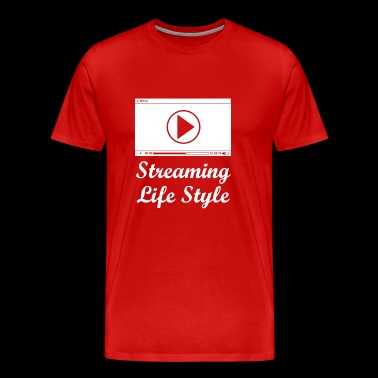 streaming wite - Men's Premium T-Shirt