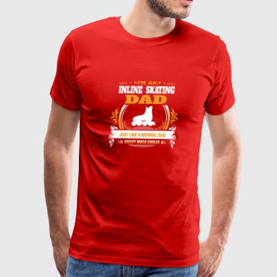 Inline Skating Dad Shirt Gift Idea - Men's Premium T-Shirt