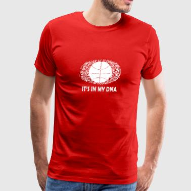 Basketball DNA T-shirt - Men's Premium T-Shirt
