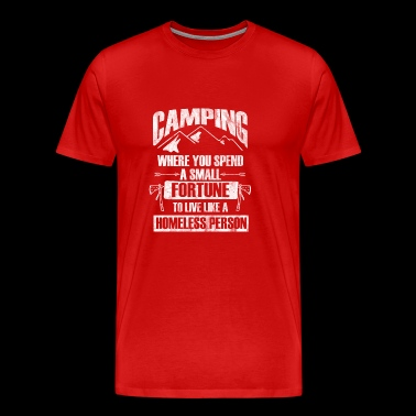 Gift for a happy camping Person - Men's Premium T-Shirt