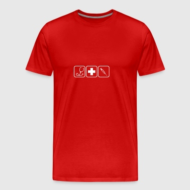 Nursing Life gift for Nurses - Men's Premium T-Shirt