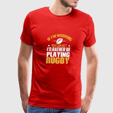 Great Gift Ideas For Rugby Lover. - Men's Premium T-Shirt