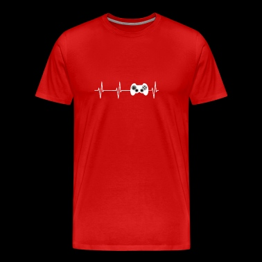 Heartbeat Gaming - Men's Premium T-Shirt