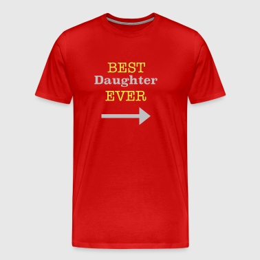 Best Daughter Ever Arrow - Men's Premium T-Shirt