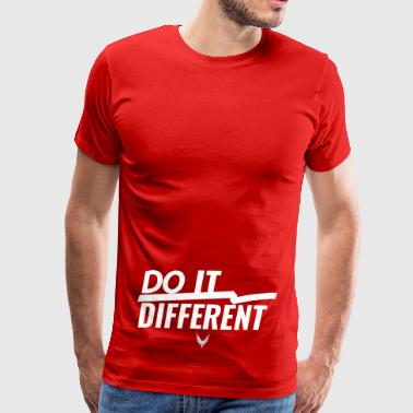 Do It Different merch by Maverick Apparel - Men's Premium T-Shirt