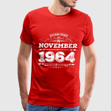 Established in November 1964 - Men's Premium T-Shirt