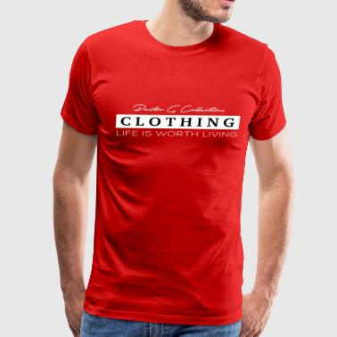 Pastor G Collection - Life Is Worth Living - Men's Premium T-Shirt