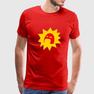 Crimson Bolt SUPER - Men's Premium T-Shirt