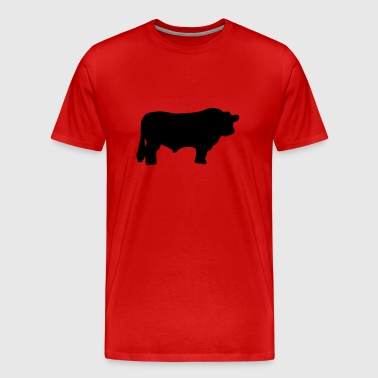 bull black angus - Men's Premium T-Shirt