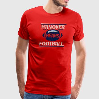 Hanover High School Bears Football - Men's Premium T-Shirt