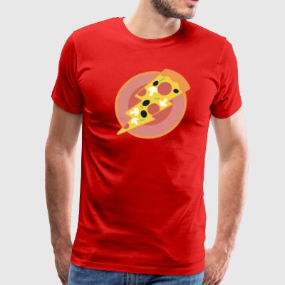flash pizza - Men's Premium T-Shirt