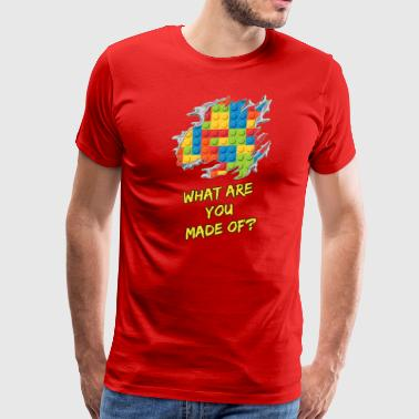 What are you made of? - Men's Premium T-Shirt