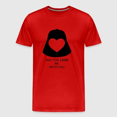 May the love be with you - Men's Premium T-Shirt