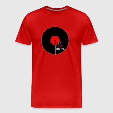 Record Mono - Men's Premium T-Shirt
