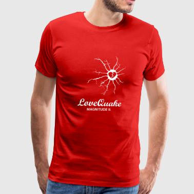 lovequake wite - Men's Premium T-Shirt