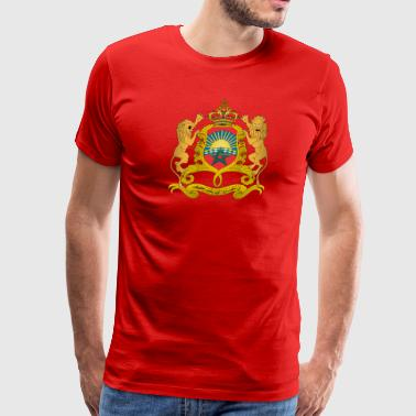 Coat of arms of Morocco svg - Men's Premium T-Shirt